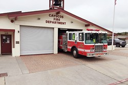 CHANGING HANDS:  The Cayucos Fire Department is making the switch from local to county control after the board voted to dissolve the department. - PHOTO COURTESY OF THE CAYUCOS FIRE DEPARTMENT
