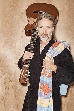HOT WATER AND HOT MUSIC :  Next Weekend, on May 12 to 14, the Folk-N-Soak returns to Paso's Franklin Hot Springs for three days of music, camping, and fun, hosted by Christopher Hawley (pictured). Expect about a dozen acts! - PHOTO COURTESY OF CHRISTOPHER HAWLEY
