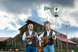 AMERICANA ICONS:  Chris Hillman and Herb Pedersen play a fundraising concert at the Edwards Barn on April 22. - PHOTO COURTESY OF CHRIS HILLMAN AND HERB PEDERSEN