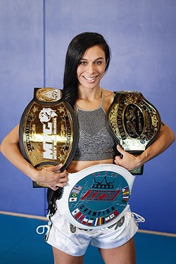 STRENGTH:  Muay Thai fuels Julia Perez to give her best fight in the ring while dealing with an average life. - PHOTO COURTESY OF ELITE MUAY THAI ACADEMY