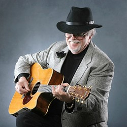 BLUEGRASS ICON:  The great flatpicker Dan Crary plays Last Stage West BBQ on April 27. - PHOTO COURTESY OF DAN CRARY