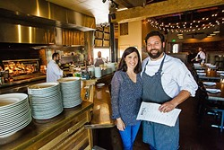 YUM:  After opening in 2015, readers rewarded Ember owners Brian and Harmony Collins for serving up infamously delicious fare with a Best South County Restaurant win. - PHOTO BY JAYSON MELLOM