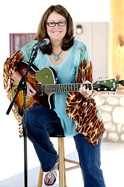 SANDCASTLEBERRY :  Singer-songwriter Sandii Castleberry will bring her blues, roots, country, and country rock sounds to Creeky Tiki on June 8, and Frog and Peach on June 14. - PHOTO COURTESY OF SANDII CASTLEBERRY