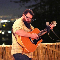 MOONDANCERS:  Songwriters at Play hosts a Tribute to Van Morrison on April 29 at the Steynberg Gallery, with nine acts including Oakland's Jimbo Scott (pictured). - PHOTO COURTESY OF JIMBO SCOTT