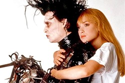 INCOMPLETE :  Johnny Depp, in his first production with director Tim Burton, starred as the titular character in 'Edward Scissorhands,' an unfinished experiment who finds love in mainstream suburbia. - PHOTO COURTESY OF 20TH CENTURY FOX