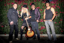 COW PUNK J K and the Rock 'n' Souls return to Paso's Rock 'n' Robles Grill & Pizza Kitchen on June 24 and July 15. - PHOTO COURTESY OF JK AND THE ROCK'N'SOULS