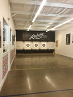 INDOOR ARCHERY Central Coast Archery on Los Osos Valley Road in SLO offers a safe, indoor space to learn the ins and outs of archery. - PHOTO COURTESY OF RYAH COOLEY