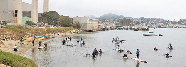COMMUNITY Children with special needs can enjoy the Morro Bay waters with the help of Project Surf Camp. - PHOTO COURTSEY OF PROJECT SURF CAMP
