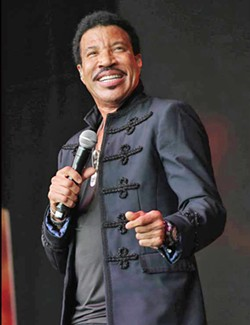 SUPER STAR The great Lionel Richie headlines the first night of the California Mid-State Fair on July 19, playing the Chumash Grandstand Arena. - PHOTO COURTESY OF LIONEL RICHIE