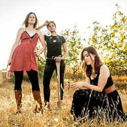 PITCH PERFECT The Honey Whiskey Trio brings their amazing harmony vocals to Linnaea's Café on July 14, playing folk and bluegrass. - PHOTO COURTESY OF THE HONEY WHISKEY TRIO