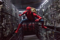 SPIDEY SENSES! Tom Holland stars as Peter Parker, mild-mannered high schooler by day, crime-fighting Spider-Man by night. - PHOTO COURTESY OF COLUMBIA PICTURES AND MARVEL STUDIOS