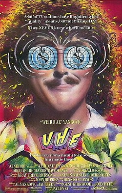 """DARE TO BE STUPID Cal Poly alum """"Weird Al"""" Yankovic's brand of oddball humor is on full display in 1989's UHF. - PHOTO COURTESY OF ORION PICTURES"""
