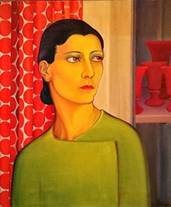 WOMEN OF ART Gretchen by artist Helen Hunt Reid is thought of as the mascot of the permanent collection, perhaps representing all those who worked to create the museum back when it was still an art association. - IMAGE COURTESY OF THE SAN LUIS OBISPO MUSEUM OF ART
