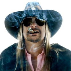KID ROCK FOR SENATE! Hip-hop, metal, and country rocker Kid Rock plays the California Mid-State Fair on July 23. - PHOTO COURTESY OF KID ROCK