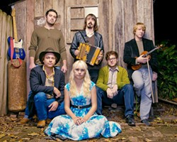 SWEET HEAT Cajun act Feufollet plays a SLOfolks show at Castoro Cellars on July 22. - PHOTO COURTESY OF FEUFOLLET