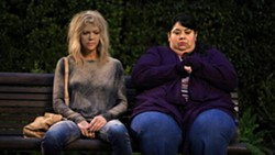 FRIENDS IN NEED Mackenzie (Kaitlin Olson, left) becomes fast friends with her sister's housekeeper Alba (Carla Jimenez), when they suffer through one misadventure after another as they look after Mackenzie's spoiled nieces and nephews. - PHOTO COURTESY OF 20TH CENTURY FOX TELEVISION