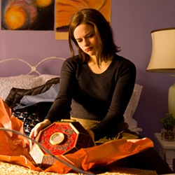 NIGHTMARE In Wish Upon, what seems like the perfect gift quickly turns into something sinister for teen Clare (Joey King.) - PHOTO COURTESY OF BROAD GREEN PICTURES