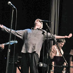 MAN, MYTH, LEGEND Songwriters at Play is paying tribute to Cambria singer-songwriter, actor, and author Jim Conroy, on July 29, in the Steynberg Gallery. - PHOTO COURTESY OF JIM CONROY