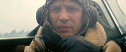 AIR Farrier (Tom Hardy) must balance a dwindling fuel supply with his duty to fight off enemy aircraft picking off Allied forces like sitting ducks. - PHOTO COURTESY OF WARNER BROS. PICTURES