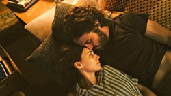 LOVE Married couple C (Casey Affleck) and M (Rooney Mara) live in a ramshackle house that she wants to leave though he doesn't. - PHOTOS COURTESY OF A24