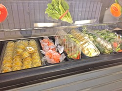 FRESH AND LOCAL The salad bar at the San Luis Coastal School District's cafeterias now offer locally grown produce from across San Luis Obispo County. - PHOTO COURTESY OF ERIN PRIMER