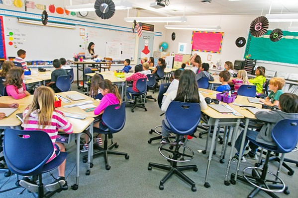 LOOKING FOR MONEY San Luis Coastal Unified School District and its students are waiting for an approval from the California Public Utilities Commission that that would guarantee $8 million annually in property taxes from PG&E until 2025. - PHOTO COURTESY OF SLCUSD
