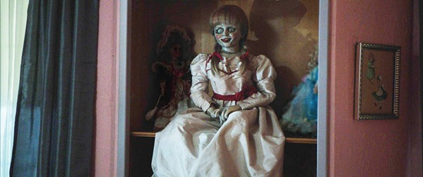 BOO! Annabelle, a doll named after its maker's dead daughter, is embodied by an evil entity in Annabelle: Creation. - PHOTO COURTESY OF NEW LINE CINEMA