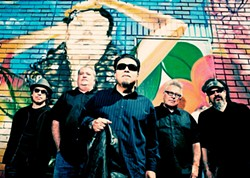 EAST LA HEROES The always-amazing Los Lobos plays Tooth & Nail Winery on Aug. 27, a fundraiser for the Boys & Girls Club of North SLO County. - PHOTO COURTESY OF LOS LOBOS