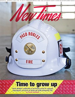 FIRE EMERGENCY Paso's Department of Emergency Services faces a complete rebuild after its top two fire officials left the city earlier this year. - COVER PHOTO BY JAYSON MELLOM