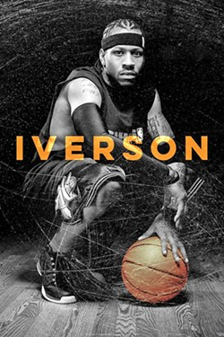 THE ANSWER NBA player Allen Iverson transformed the culture of American basketball with his style—both on and off the court. - IMAGE COURTESY OF 214 FILMS