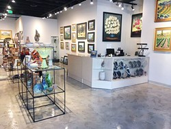 UPSCALE Julie Dunn and her business partner Peggy Turk plan to bring fine art and custom boutique offerings to their newly opened Park Street Gallery in downtown Paso Robles. - PHOTO COURTESY OF PARK STREET GALLERY
