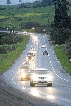 ON THE ROAD A local law firm is trying to help drivers stay safe by compiling a list of SLO's 25 most dangerous intersections. - FILE PHOTO