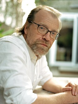 30TH OF SEPTEMBER Author George Saunders brings his grit and whimsy to SLO County for a reading at the PAC at the end of the month. He'll share excerpts from his recently published first novel, Lincoln in the Bardo. - PHOTO COURTESY OF CHLOE AFTEL