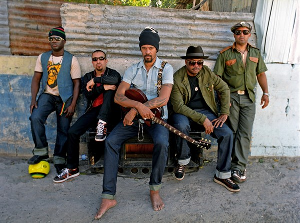 LOVING OUT LOUD Michael Franti & Spearhead (pictured) headlines the Whale Rock Music & Arts Festival on Sept. 16, and Jamestown Revival headlines Sept. 17. - PHOTO COURTESY OF MICHAEL FRANTI & SPEARHEAD