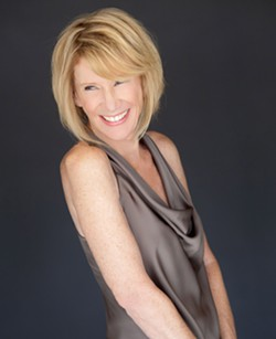 CHANTUESE L.A.-based jazz vocalist Julie Kelly (pictured) plays D'Anbino Vineyards with The Marshall Otwell Trio on Sept. 17. - PHOTO COURTESY OF JULIE KELLY