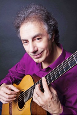 ACOUSTIC MASTER Guitar genius Pierre Bensusan plays the Steynberg Gallery on Sept. 29. - PHOTO COURTESY OF PIERRE BENSUSAN