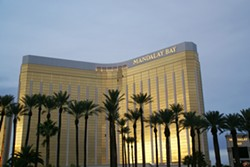 TRAGEDY IN VEGAS A lone gunman killed at least 59 people, including himself, and injured more than 500 others when he opened fire on an outdoor music festival from his hotel room on the 32nd floor of the Mandalay Bay Resort and Casino. - PHOTO ©HERMANN LUYKEN (VIA CREATIVE COMMONS)