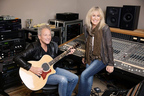 OLD FRIENDS Fleetwood Mac members Lindsey Buckingham and Christine McVie will play songs from their new duet albums as well as classic Fleetwood hits on Oct. 15, at Vina Robles Amphitheatre. - PHOTO COURTESY OF JOHN RUSSO