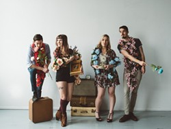 AMERCIANA AND BEYOND Folk-pop string band Kuinka plays Tooth & Nail Winery on Oct. 6. - PHOTO COURTESY OF KUINKA