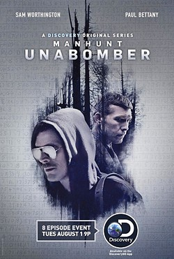 MAD BOMBER Discovery Channel dips its toe into the true crime genre with Manhunt: Unabomber. - PHOTO COURTESY OF DISCOVERY CHANNEL