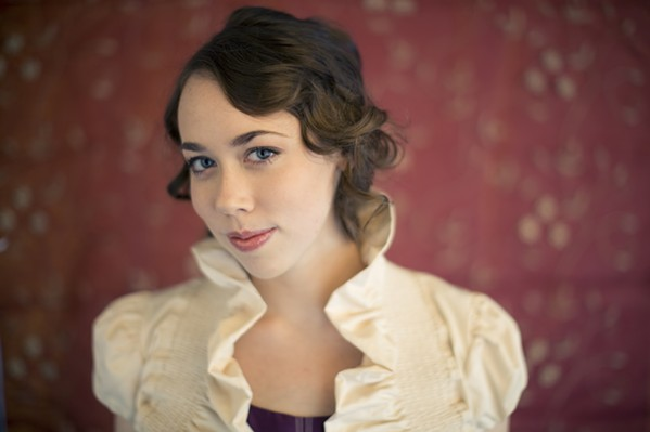DOUBLE GRAMMY WINNER! Multi-instrumentalist Sarah Jarosz, who won Best Folk Album and Best Americana Roots Performance at last year's Grammy Awards, plays SLO Brew on Oct. 16. - PHOTO COURTESY OF SARAH JAROSZ