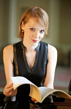 PLAYING PADEREWSKI Pianist Magdalena Baczewska headlines the four-day Paderewski Festival with a concert at the Paso Robles Inn Ballroom on Nov. 4. - PHOTO COURTESY OF MAGDALENA BACZEWSKA