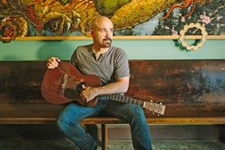 HEY TONY! Amazing blues, bluegrass, and folk artist Tony Furtado returns for two SLOfolks shows, Nov. 4 at Castoro Cellars and Nov. 5 at Coalesce Bookstore. - PHOTO COURTESY OF ALICIA J. ROSE