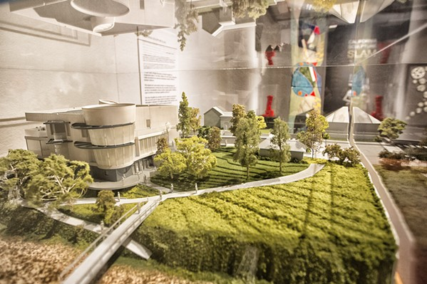 MODEL MUSEUM In January, the San Luis Obispo Museum of Art launched its capital campaign to raise funds for a new $15 million building. In September, the museum secured a $400,000 donation from the county, after submitting the results from the recent Arts and Economic Prosperity 5 Survey. - PHOTO BY JAYSON MELLOM