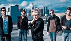 SWEDE ROCK The Sounds play the Fremont Theater on Nov. 10, celebrating the 10th anniversary of their breakout album Dying to Say This to You. - PHOTO COURTESY OF THE SOUNDS