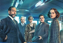 WHO DONE IT? A group of strangers on a train must figure out who among them is the murderer in Murder on the Orient Express. - PHOTO COURTESY OF 20TH CENTURY FOX