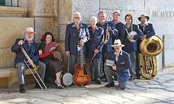 HOT, HOT, HOT! On Nov. 19, check out Santa Barbara's Ulysses Jazz Band at the Pismo Beach Vets Hall. - PHOTO COURTESY OF ULYSSES JAZZ BAND