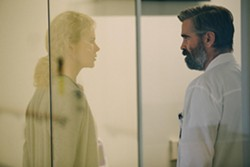 IMPOSSIBLE CHOICES Dr. Steven Murphy (Colin Farrell, right) and his wife, Anna (Nicole Kidman), find their family being torn apart by a transgression from Steven's past. - PHOTO COURTESY OF A24
