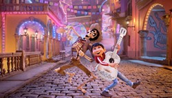 LOS MUERTOS In the animated film Coco, young Miguel journeys to the land of the dead to discover his family's long-held ban on music. - PHOTO COURTESY OF DISNEY/PIXAR