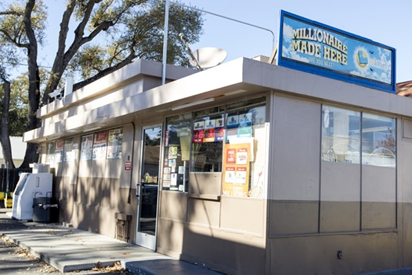 WINNING BIG Paso Robles resident Charles Hairston purchased his winning lotto ticket at this convenience store in 2011. Six years later, Hairston is wrapped up in a legal battle to determine who will be in charge of his care and finances. - PHOTO BY JAYSON MELLOM